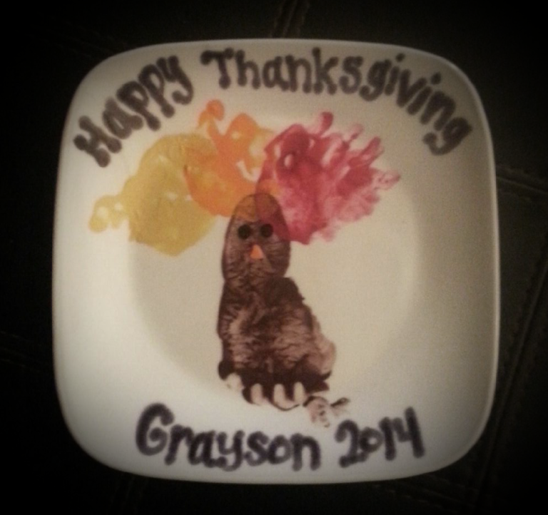 Grayson's Turkey Plate