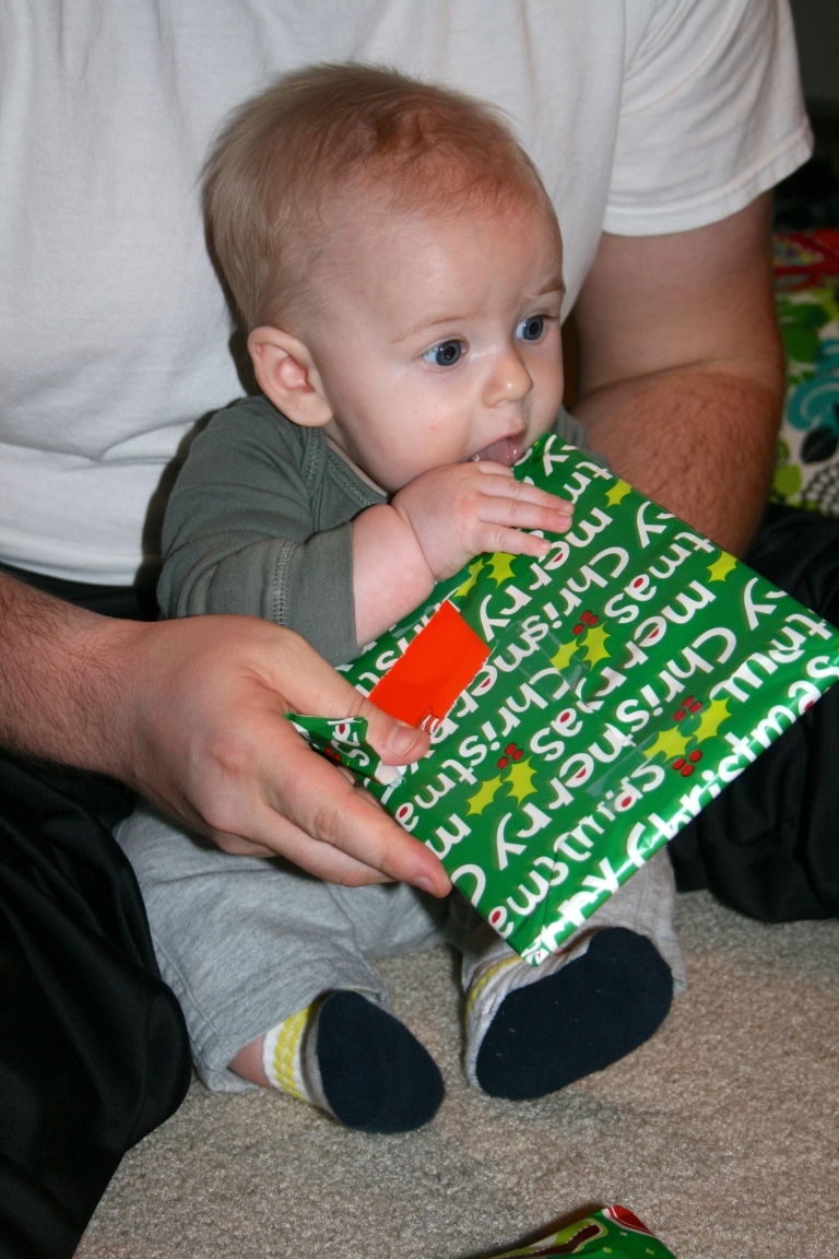 Let me just eat my way to this present!
